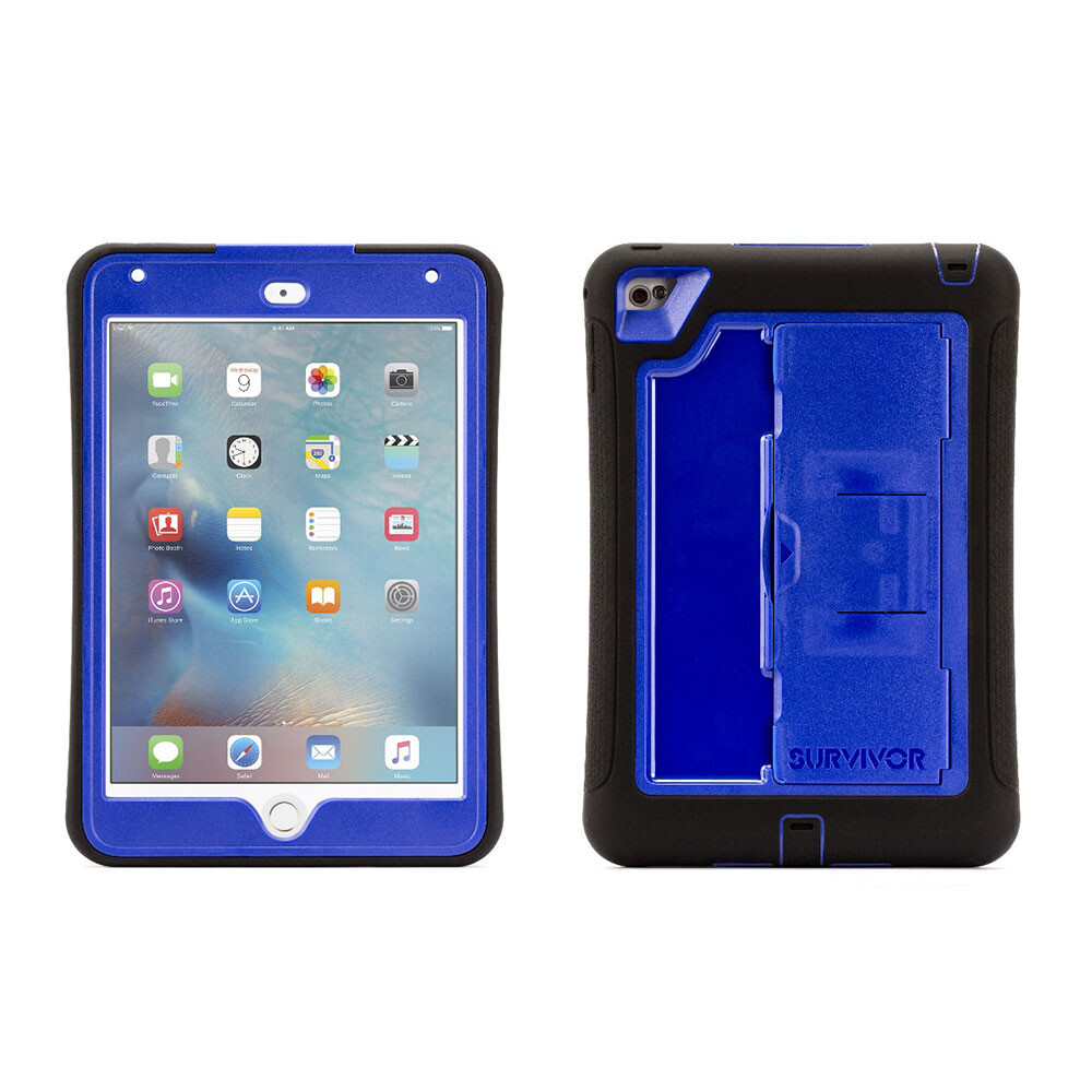 Чехол Griffin Survivor Slim Black/Blue для iPad mini 4