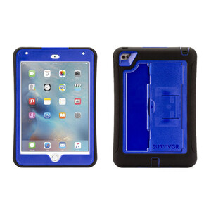 Купить Чехол Griffin Survivor Slim Black/Blue для iPad mini 4