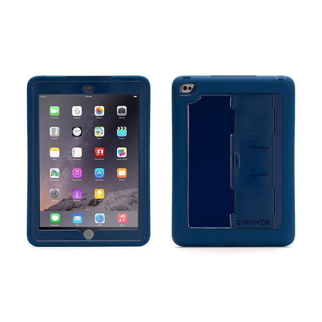 Чехол Griffin Survivor Slim Blue/Blue для iPad Air 2