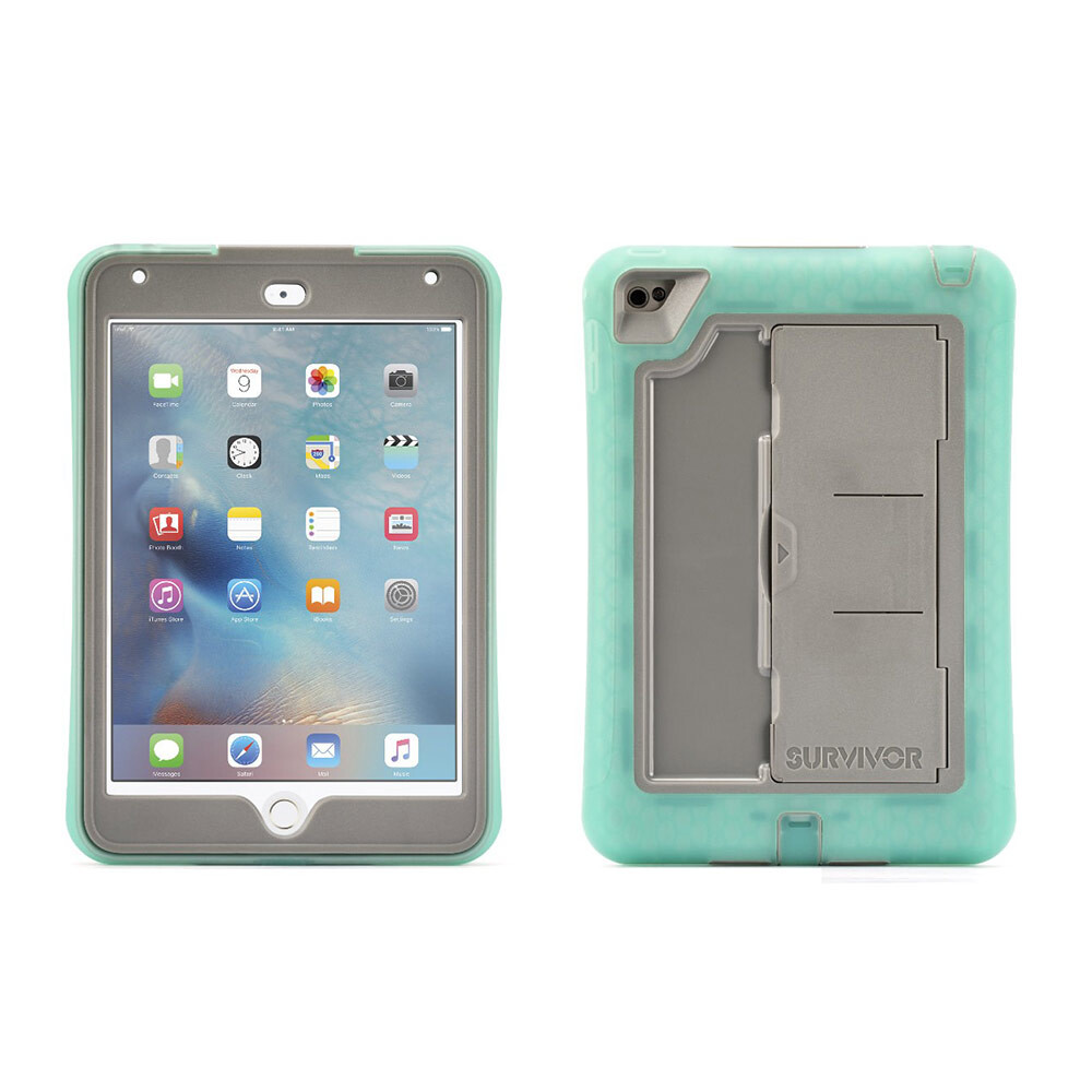 Чехол Griffin Survivor Slim Green/Grey для iPad mini 4