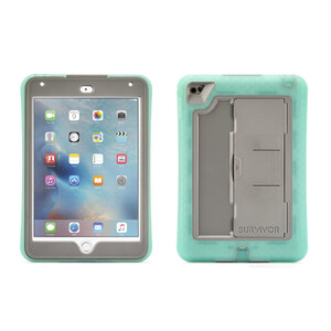 Купить Чехол Griffin Survivor Slim Green/Grey для iPad mini 4