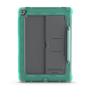 Купить Чехол Griffin Survivor Slim Green/Grey для iPad Pro 12.9""
