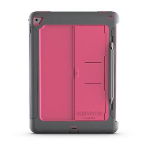 """Купить Чехол Griffin Survivor Slim Grey/Pink для iPad Pro 12.9"""""""