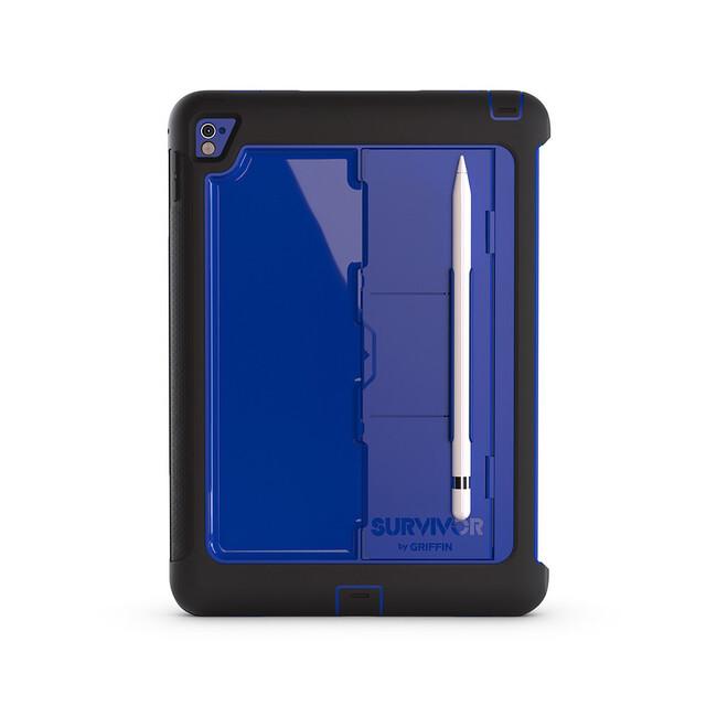 "Чехол Griffin Survivor Slim Black/Blue для iPad Pro 9.7"""