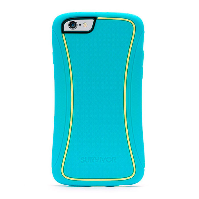 Чехол Griffin Survivor Slim Turquoise для iPhone 6/6s
