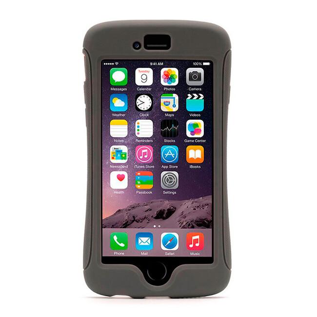 Чехол Griffin Survivor Slim Grey для iPhone 6/6s