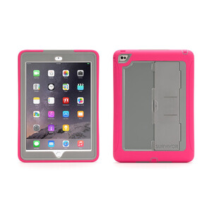 Купить Чехол Griffin Survivor Slim Pink/Grey для iPad Air 2