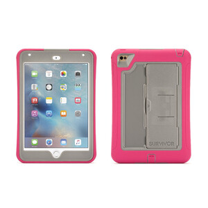 Купить Чехол Griffin Survivor Slim Pink/Grey для iPad mini 4