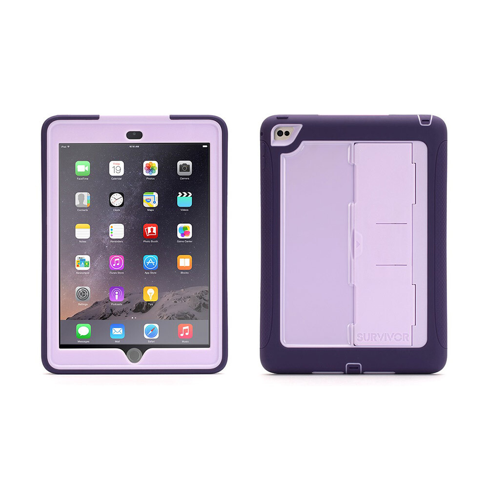 Чехол Griffin Survivor Slim Purple/Lavender для iPad Air 2