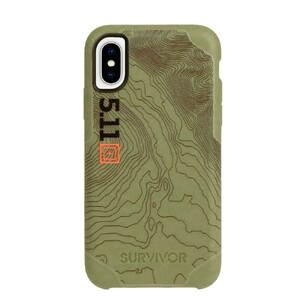Купить Противоударный чехол Griffin Survivor Strong: 5.11 Tactical Edition Green для iPhone X/XS