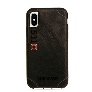 Купить Противоударный чехол Griffin Survivor Strong: 5.11 Tactical Edition Black/Grey для iPhone X/XS