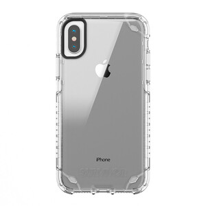 Купить Противоударный чехол Griffin Survivor Strong Clear для iPhone X