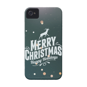 Купить Чехол BartCase Happy Holidays для iPhone 4/4S