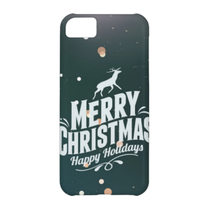 Купить Чехол BartCase Happy Holidays для iPhone 5C