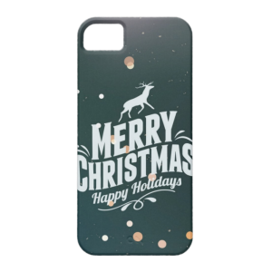Купить Чехол BartCase Happy Holidays для iPhone 5/5S/SE