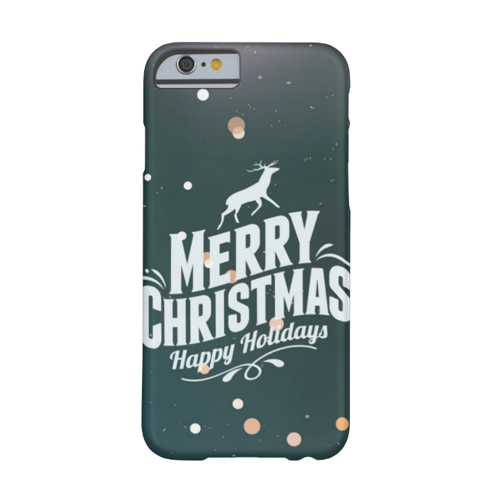 Чехол BartCase Happy Holidays для iPhone 6/6s
