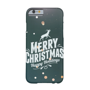 Купить Чехол BartCase Happy Holidays для iPhone 6/6s