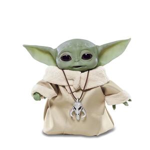 Купить Интерактивная игрушка Hasbro Baby Yoda (Малыш Йода) из Звездные войны: Мандалорец, Цена 4 199 ₴