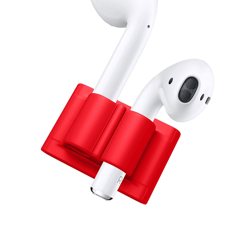 Купить Держатель iLoungeMax Headset Holder Red для Apple AirPods | AirPods Pro