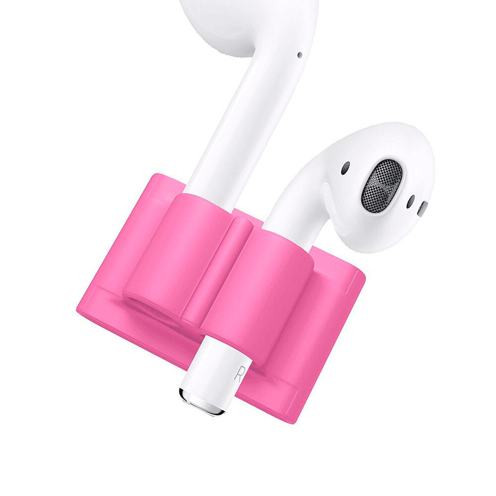 Держатель Headset Holder Hot Pink для Apple AirPods