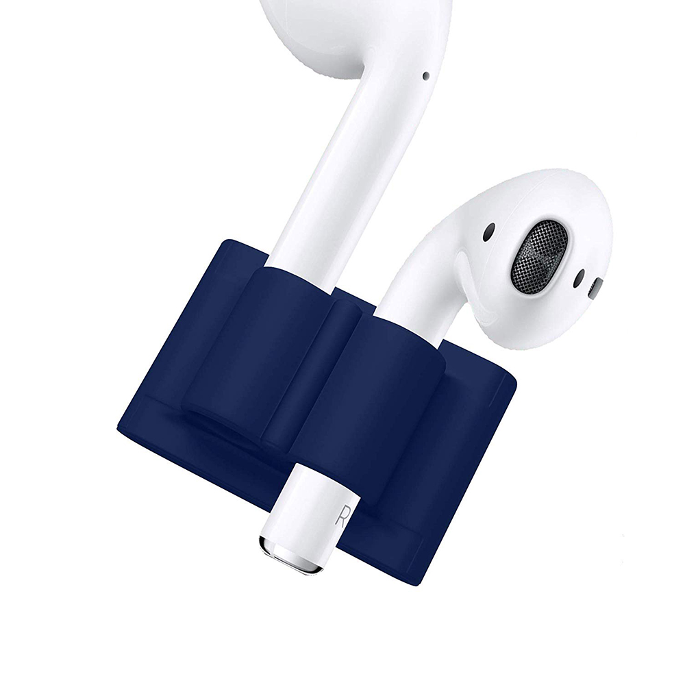 Купить Держатель oneLounge Headset Holder Navy Blue для Apple AirPods | AirPods Pro