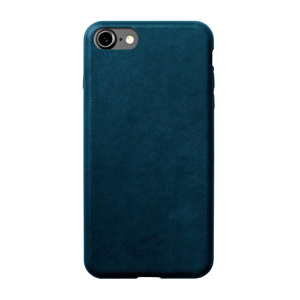 Кожаный чехол Nomad Leather Case Midnight Blue для iPhone 7/8 (Уценка)