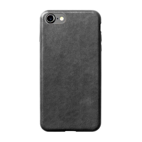 Кожаный чехол Nomad Leather Case Slate Gray для iPhone 7   8   SE 2020