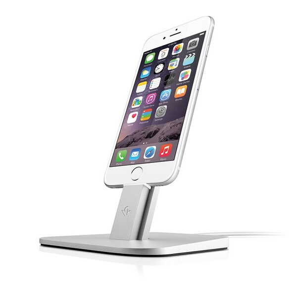 Док-станция Twelve South HiRise Silver для iPhone | iPad mini