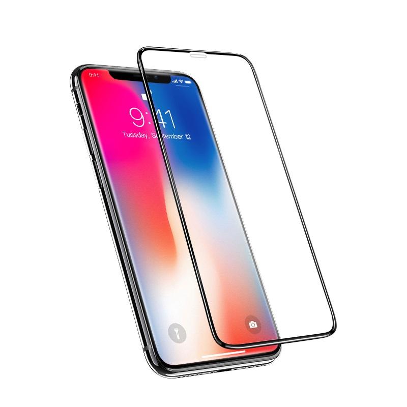 Купить Защитное стекло HOCO A12 Nano 3D Full Screen для iPhone 11 Pro Max | XS Max