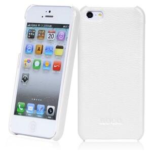 Купить Белая кожаная накладка HOCO Fashion для iPhone 5/5S/SE