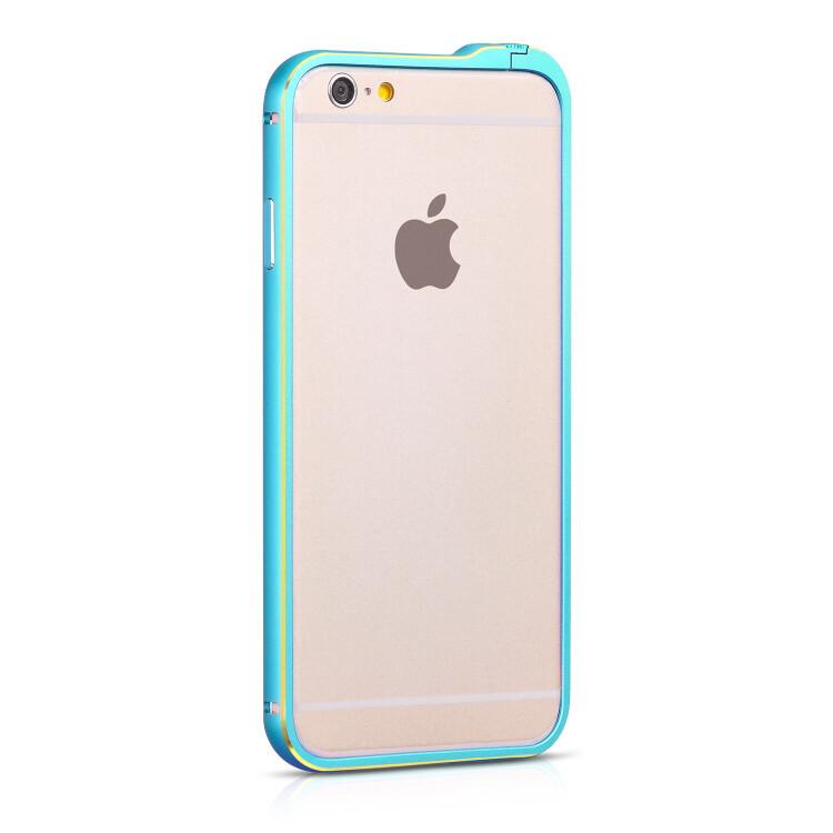Бампер HOCO Blade Fedora Blue для iPhone 6/6s