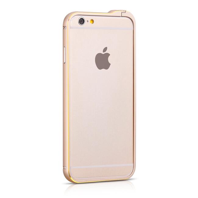 Бампер HOCO Blade Fedora Golden для iPhone 6/6s