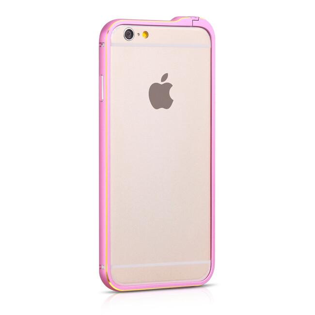 Бампер HOCO Blade Fedora Pink для iPhone 6/6s