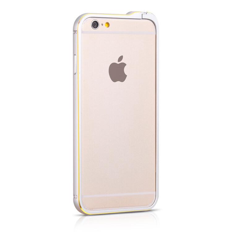 Бампер HOCO Blade Fedora Silver для iPhone 6/6s