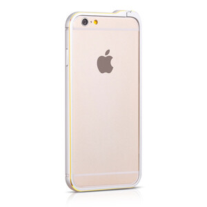 Купить Бампер HOCO Blade Fedora Silver для iPhone 6/6s