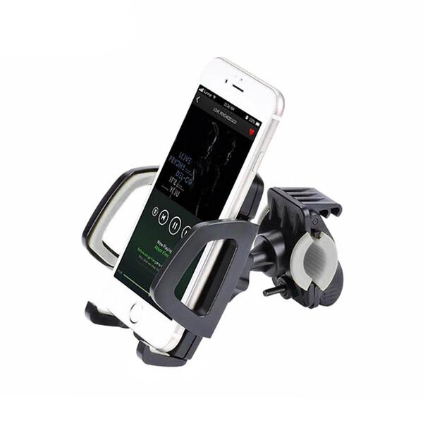 Универсальный велодержатель HOCO CA14 Gray для телефона