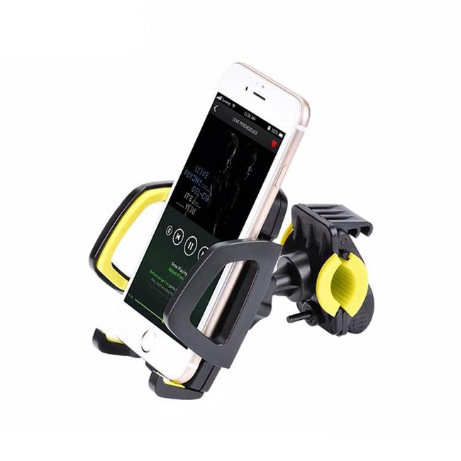 Купить Универсальный велодержатель HOCO CA14 Yellow для телефона