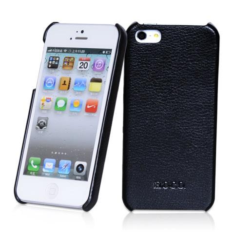 Кожаный чехол HOCO Duke back для iPhone 5/5S/SE