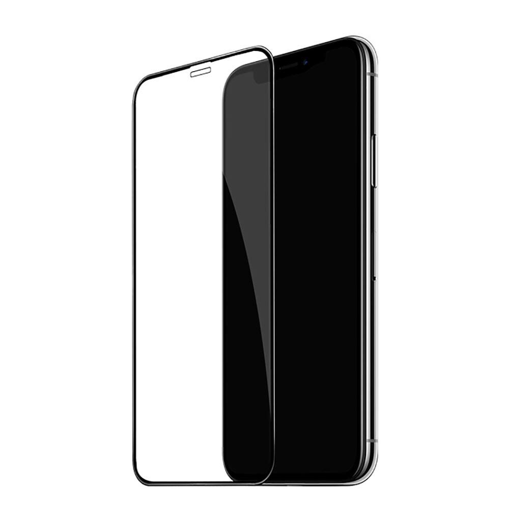 Защитное стекло HOCO Fast Attach 3D Tempered Glass Black для iPhone XS Max