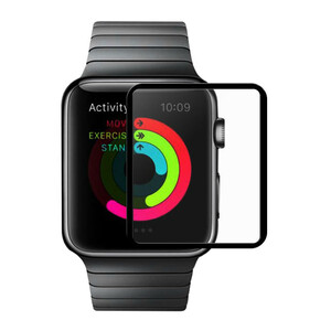 Купить Защитное стекло HOCO Ghost Series Full Rim 0.1mm для Apple Watch 42mm Series 3/2/1