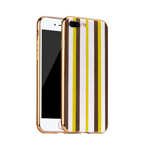 Купить TPU чехол HOCO Glint Series Yellow/White для iPhone 7 Plus