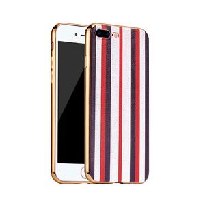 Купить TPU чехол HOCO Glint Series Red/White для iPhone 7 Plus