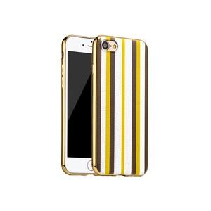 Купить TPU чехол HOCO Glint Series Yellow/White для iPhone 7/8