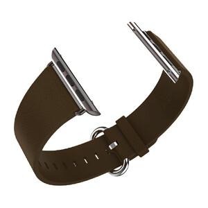 Купить Кожаный ремешок HOCO Leather Dark Brown для Apple Watch 42mm/44mm Series 1/2/3/4