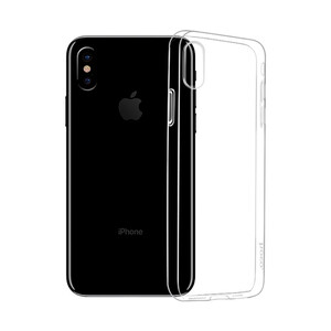 Ультратонкий чехол HOCO Light Series TPU Transparent для iPhone X XS ab83c47f7d6df