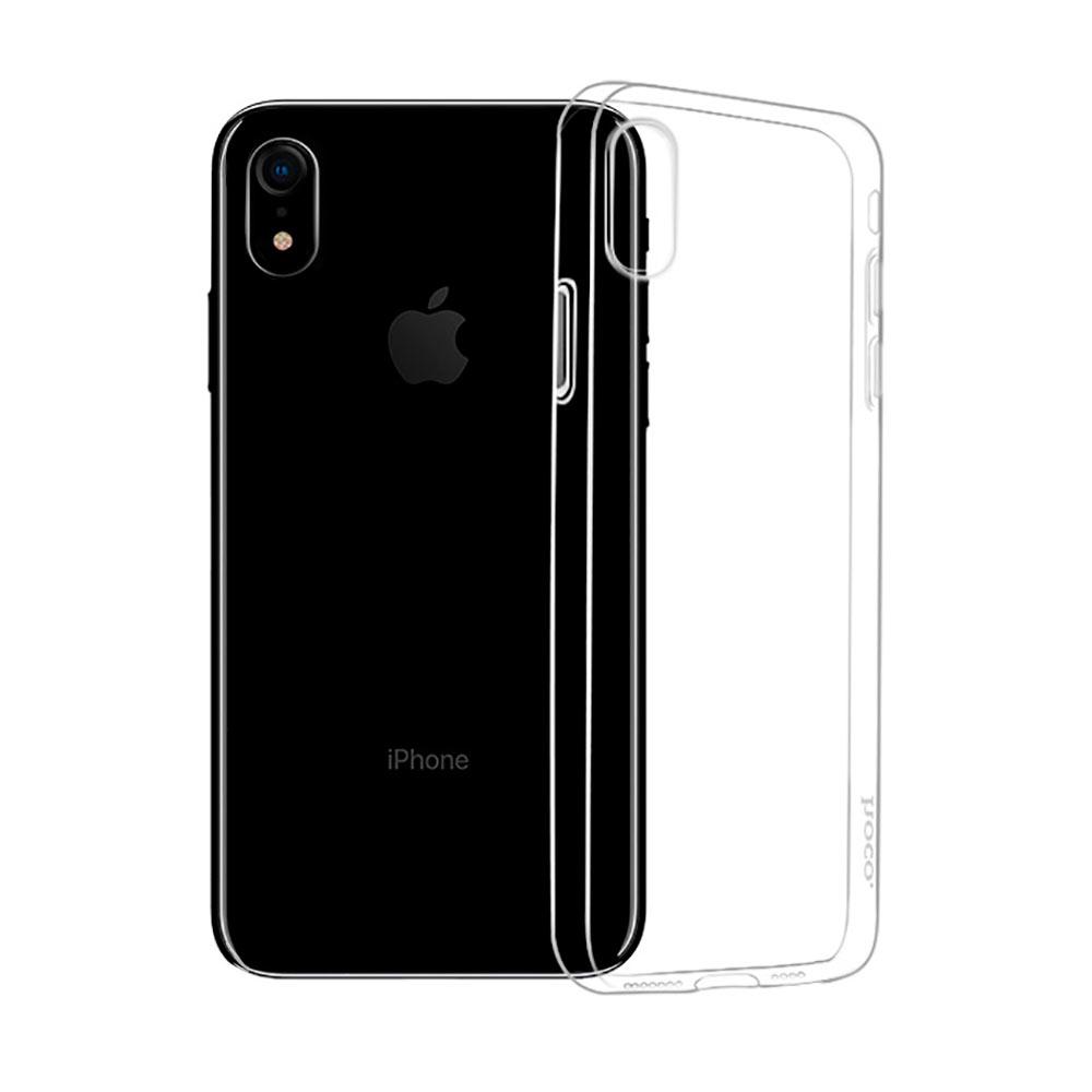 Купить Ультратонкий чехол HOCO Light Series TPU Transparent для iPhone XR