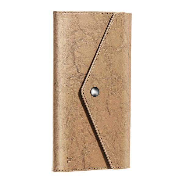 Купить Коричневый кошелек HOCO Multifunctional Wallet с карманом для телефона
