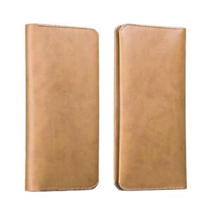 Купить Кожаный чехол HOCO Portfolio Series Brown для iPhone/Galaxy