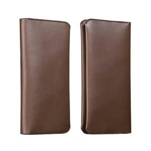 Купить Кожаный чехол HOCO Portfolio Series Coffee для iPhone/Galaxy