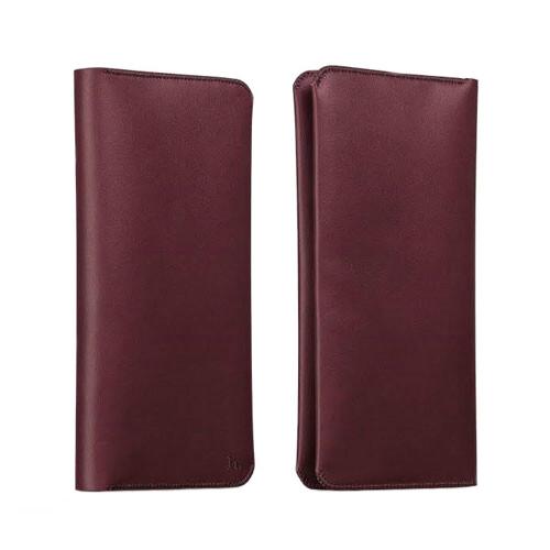 Кожаный чехол HOCO Portfolio Series Red для iPhone/Galaxy